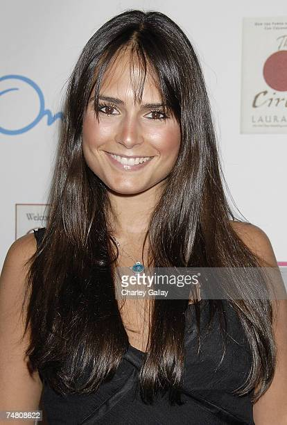 Actress Jordana Brewster arrives at the party to celebrate The Circle and Welcome To Your Crisis author Laura Day at ONE Sunset restaurant on June 19...