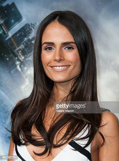 Actress Jordana Brewster arrives at the Premiere Of Paramount Pictures' Project Almanac at TCL Chinese Theatre on January 27 2015 in Hollywood...