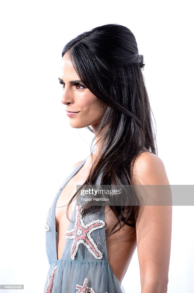 Actress Jordana Brewster arrives at Universal Pictures Premiere of 'Furious 7'' at the TLC Chinese Theatre, Hollywood, on April 1, 2015 in Los Angeles.CA