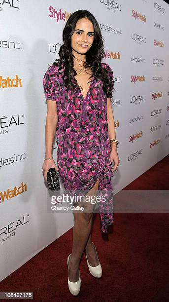 Actress Jordana Brewster arrives to 'A Night Of Red Carpet Style' hosted by People StyleWatch at Decades on January 27, 2011 in Los Angeles,...