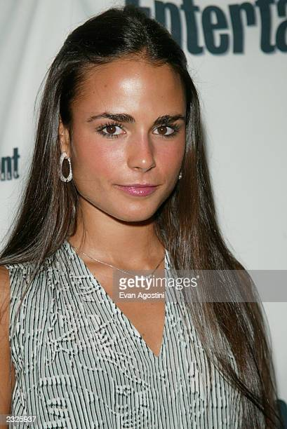 Actress Jordana Brewster at Entertainment Weekly's First Annual It List Party at Milk Studios in New York City June 24 2002 Photo Evan...