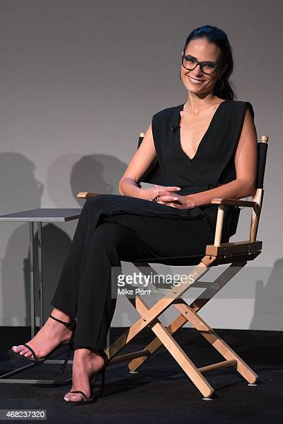 Actress Jordana Brewster attends Apple Store Soho Presents Meet the Actor Jordana Brewster 'Furious 7' at Apple Store Soho on March 31 2015 in New...