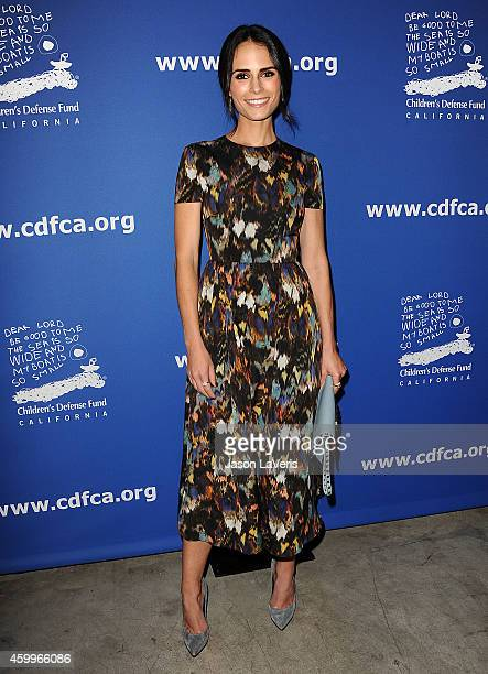 Actress Jordana Brewster attends Children's Defense Fund's 24th annual Beat The Odds Awards at The Book Bindery on December 4 2014 in Culver City...