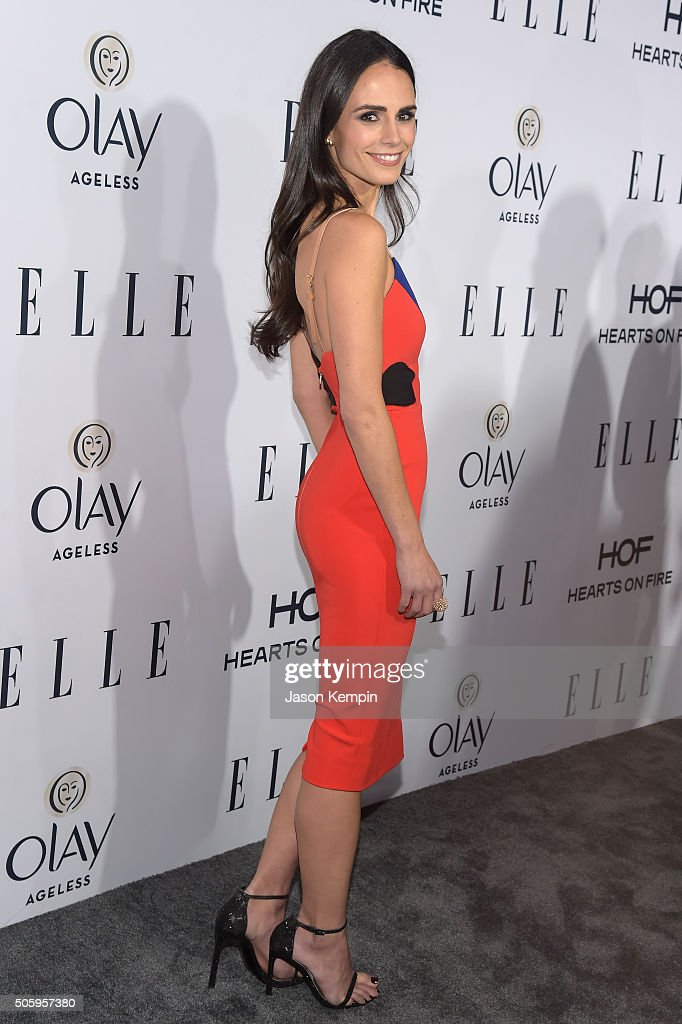 Actress Jordana Brewster attends ELLE's 6th Annual Women In Television Dinner at Sunset Tower Hotel on January 20, 2016 in West Hollywood, California.