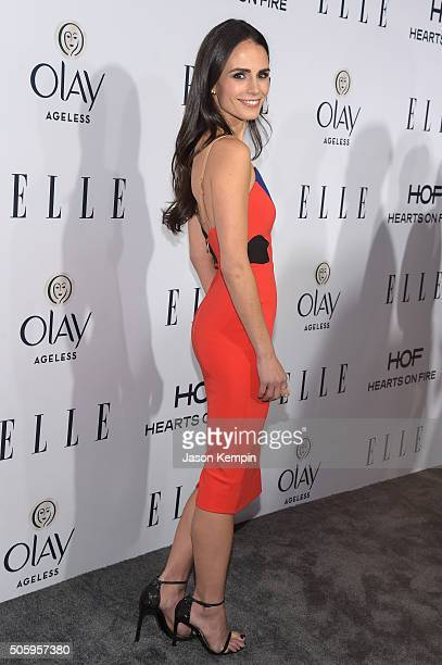 Actress Jordana Brewster attends ELLE's 6th Annual Women In Television Dinner at Sunset Tower Hotel on January 20 2016 in West Hollywood California