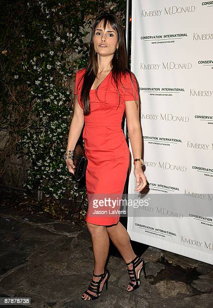 Actress Jordana Brewster attends jewelry designer Kimberly McDonald's new Turtle Collection launch at Les Deux on May 19 2009 in Hollywood California