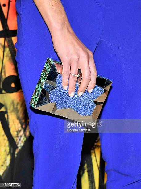 Actress Jordana Brewster attends Launch Of CHOO08 hosted by Jimmy Choo's Sandra Choi on April 15 2014 in Beverly Hills California