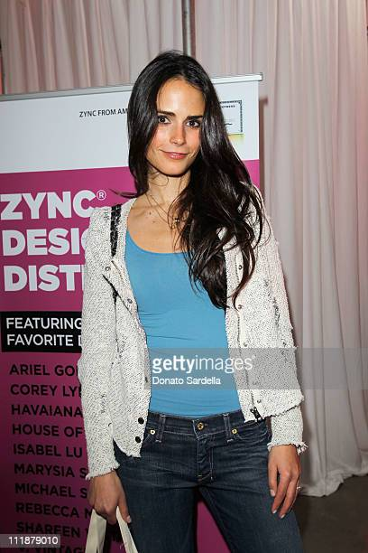 Actress Jordana Brewster attends Lucky Magazine hosts Lucky Shops LA The ultimate shopping event held at Siren Studios on April 7 2011 in Hollywood...