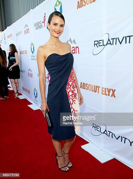 Actress Jordana Brewster attends PATHWAY TO THE CURE A fundraiser benefiting Susan G Komen presented by Pathway Genomics Relativity Media and evian...