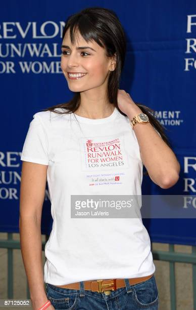 Actress Jordana Brewster attends the 16th annual EIF Revlon Run/Walk for Women at Los Angeles Memorial Coliseum on May 9 2009 in Los Angeles...