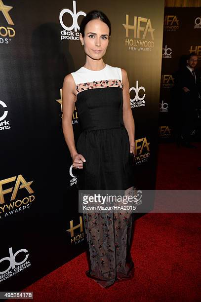 Actress Jordana Brewster attends the 19th Annual Hollywood Film Awards at The Beverly Hilton Hotel on November 1 2015 in Beverly Hills California