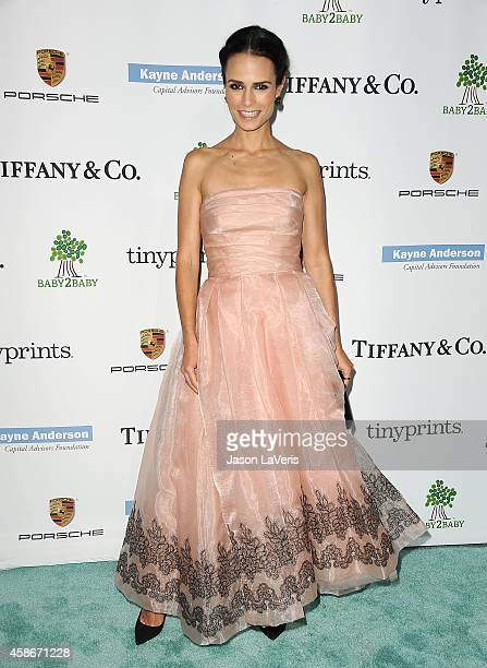 Actress Jordana Brewster attends the 2014 Baby2Baby gala at The Book Bindery on November 8 2014 in Culver City California