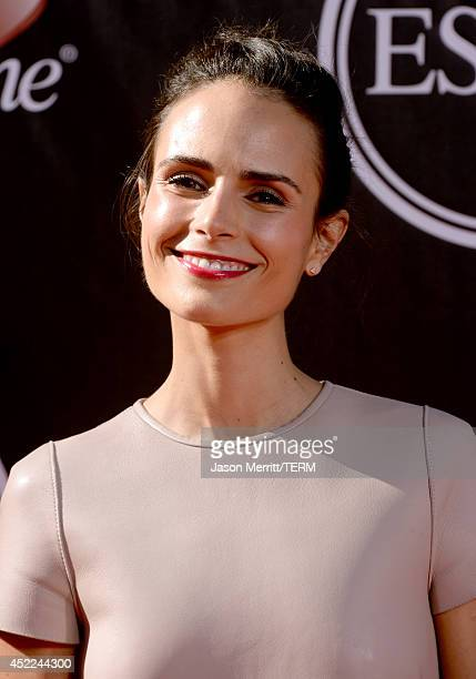 Actress Jordana Brewster attends The 2014 ESPYS at Nokia Theatre LA Live on July 16 2014 in Los Angeles California