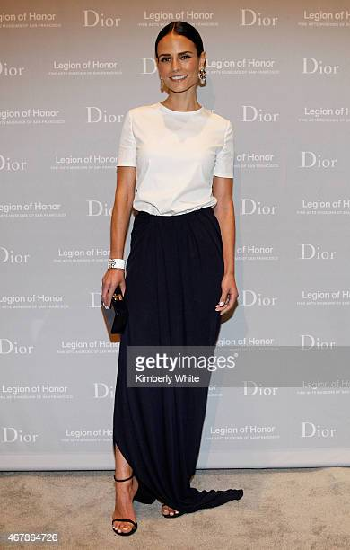 Actress Jordana Brewster attends the 2015 MidWinter Gala presented by Dior at Legion Of Honor on March 27 2015 in San Francisco California