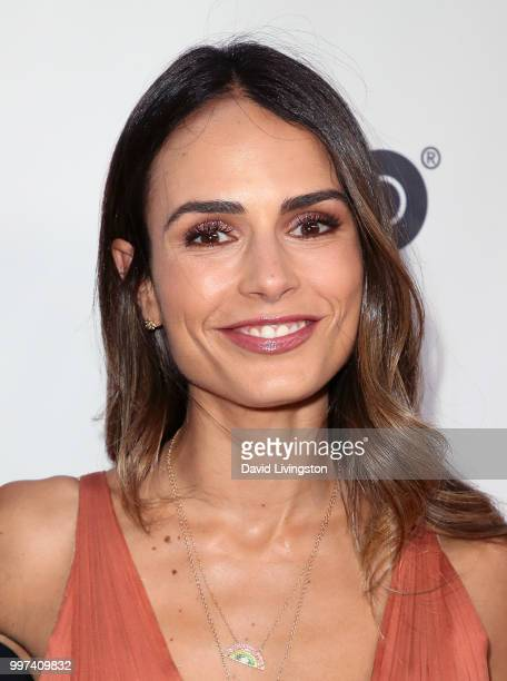 Actress Jordana Brewster attends the 2018 Outfest Los Angeles opening night gala screening of 'Studio 54' at the Orpheum Theatre on July 12 2018 in...