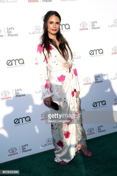 Actress Jordana Brewster attends the 27th Annual EMA Awards at Barker Hangar on September 23 2017 in Santa Monica California