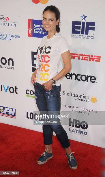 Actress Jordana Brewster attends the 4th Biennial Stand Up To Cancer A Program of The Entertainment Industry Foundation at Dolby Theatre on September...
