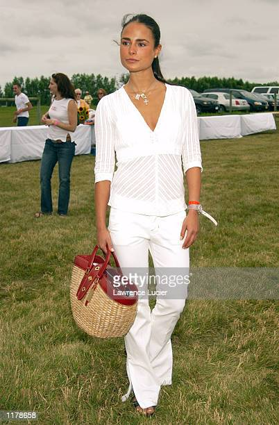 Actress Jordana Brewster attends the 5th Annual Super Saturday Designer Sale to benefit the Ovarian Cancer Research Fund on July 27 2002 at Nova's...