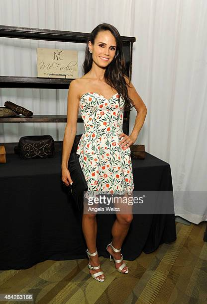 Actress Jordana Brewster attends the Backstage Creations retreat at Teen Choice 2015 at the Galen Center on August 16 2015 in Los Angeles California