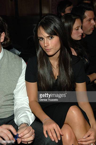 Actress Jordana Brewster attends the CatHouse grand opening party at Luxor Las Vegas on December 29 2007 in Las Vegas Nevada