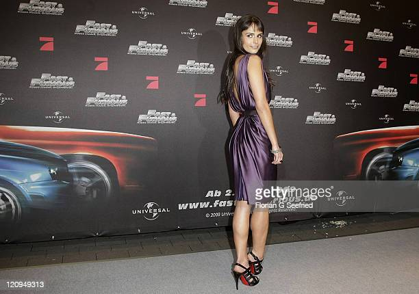 Actress Jordana Brewster attends the European premiere of Fast Furious at UCI Cinema World Ruhrpark on March 17 2009 in Bochum Germany