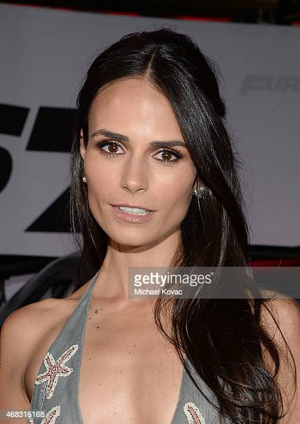 Actress Jordana Brewster attends the Furious 7 Los Angeles Premiere Sponsored by Dodge at TCL Chinese 6 Theatres on April 1 2015 in Hollywood...