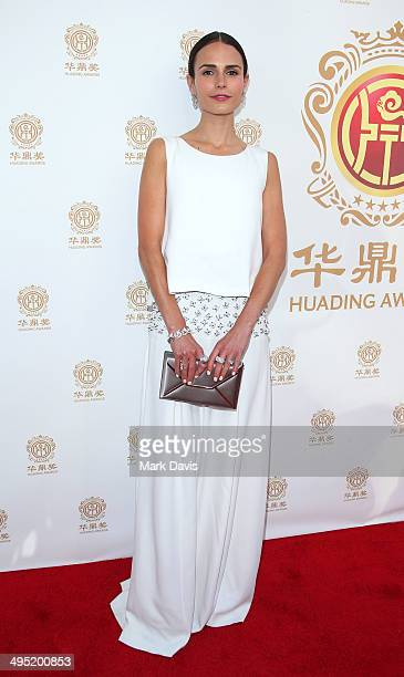 Actress Jordana Brewster attends the Huading Film Awards on June 1, 2014 at Ricardo Montalban Theatre in Los Angeles, California