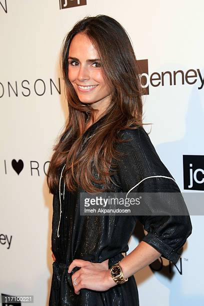Actress Jordana Brewster attends the I Heart Ronson and jcpenney celebration of The I Heart Ronson Collection held at the Hollywood Roosevelt Hotel...