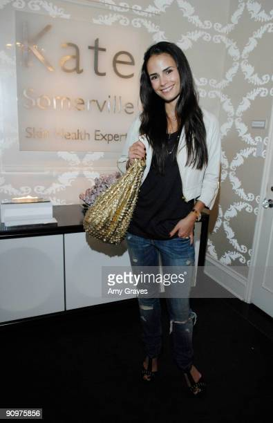 Actress Jordana Brewster attends the Kate Somerville Emmy Gifting Suite Event Day 3 at Kate Somerville on September 19 2009 in Los Angeles California