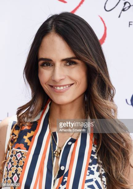 Actress Jordana Brewster attends The Open Hearts Foundation's 2018 Young Hearts Spring Event honoring Alliance of Moms and Shelift on May 6 2018 in...