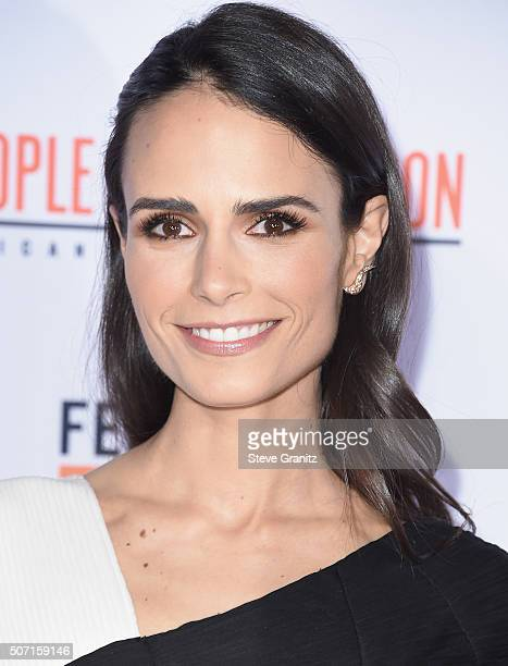 Actress Jordana Brewster attends the premiere of 'FX's 'American Crime Story The People V OJ Simpson' at Westwood Village Theatre on January 27 2016...