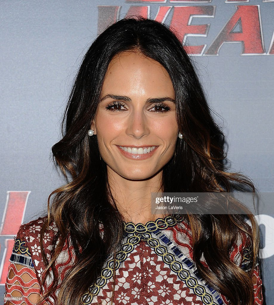 Actress Jordana Brewster attends the premiere of 'Lethal Weapon' at NeueHouse Hollywood on September 12, 2016 in Los Angeles, California.