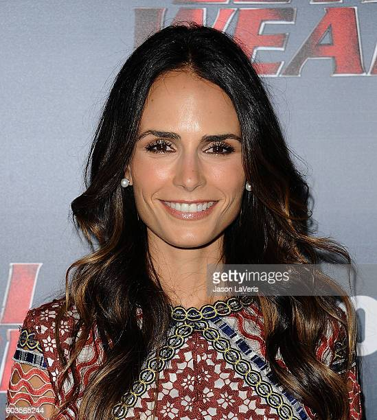 Actress Jordana Brewster attends the premiere of 'Lethal Weapon' at NeueHouse Hollywood on September 12 2016 in Los Angeles California