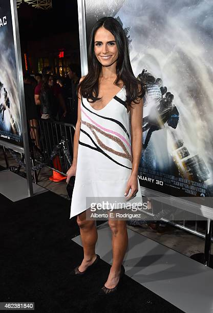 Actress Jordana Brewster attends the premiere of Paramount Pictures' Project Almanac at TCL Chinese Theatre on January 27 2015 in Hollywood California