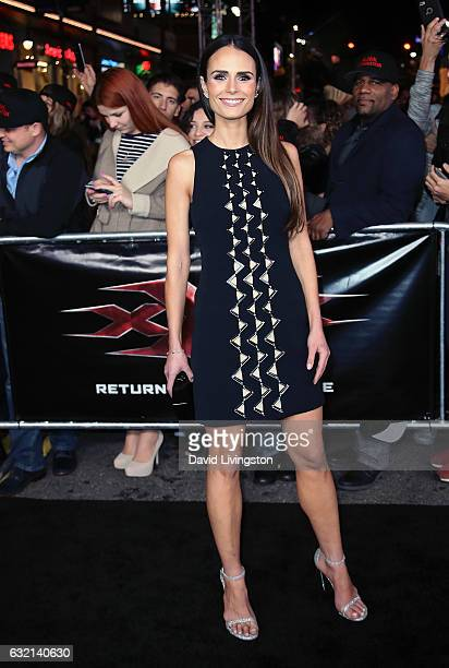 Actress Jordana Brewster attends the premiere of Paramount Pictures' xXx Return of Xander Cage at TCL Chinese Theatre IMAX on January 19 2017 in...