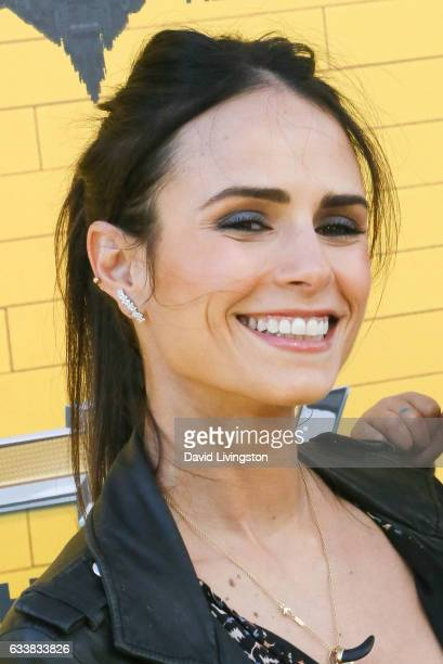 Actress Jordana Brewster attends the Premiere of Warner Bros Pictures' The LEGO Batman Movie at the Regency Village Theatre on February 4 2017 in...