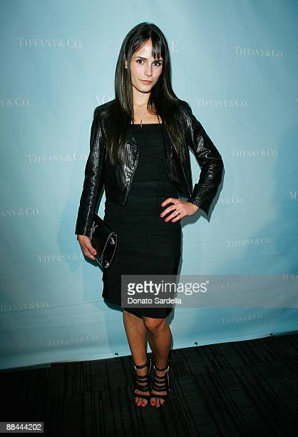 Actress Jordana Brewster attends the Vogue Hosts Cocktail for the Tiffany Co Keys Collection at the Chateau Marmont on June 11 2009 in Los Angeles...