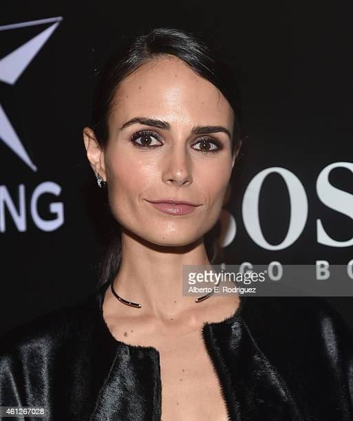 Actress Jordana Brewster attends the W Magazine Shooting Stars Exhibit Opening at Wilshire May Company Building on January 9 2015 in Los Angeles...