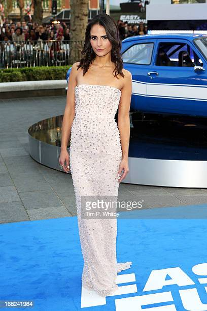 Actress Jordana Brewster attends the World Premiere of 'Fast Furious 6' at Empire Leicester Square on May 7 2013 in London England