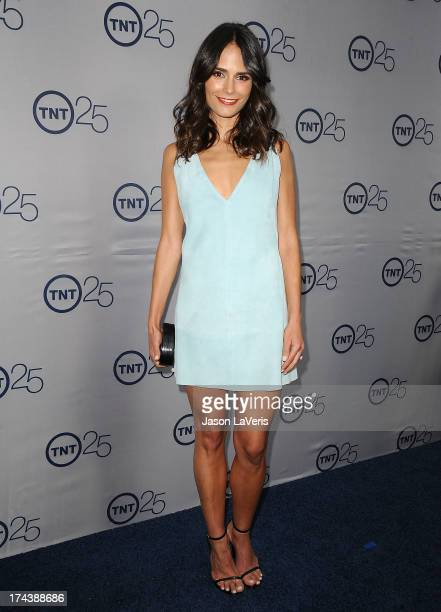 Actress Jordana Brewster attends TNT's 25th anniversary party at The Beverly Hilton Hotel on July 24 2013 in Beverly Hills California