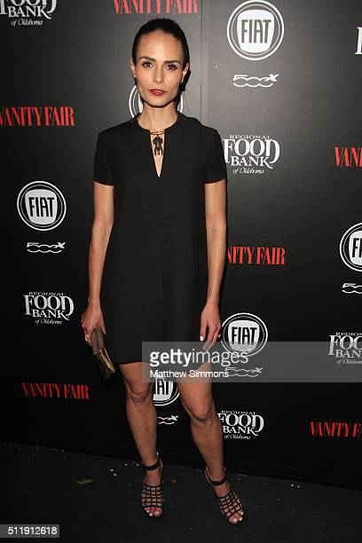 Actress Jordana Brewster attends Vanity Fair and FIAT Young Hollywood Celebration at Chateau Marmont on February 23 2016 in Los Angeles California
