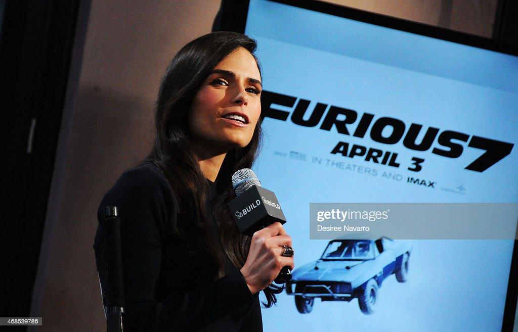 "AOL BUILD Speaker Series: Jordana Brewster Discusses Her Film ""Furious 7"" : News Photo"