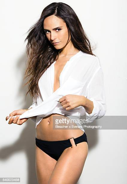 Actress Jordana Brewster is photographed for GQ Mexico on March 9 2013 in Los Angeles California Styling Brendan Cannon Hair Davy Newkirk Makeup...