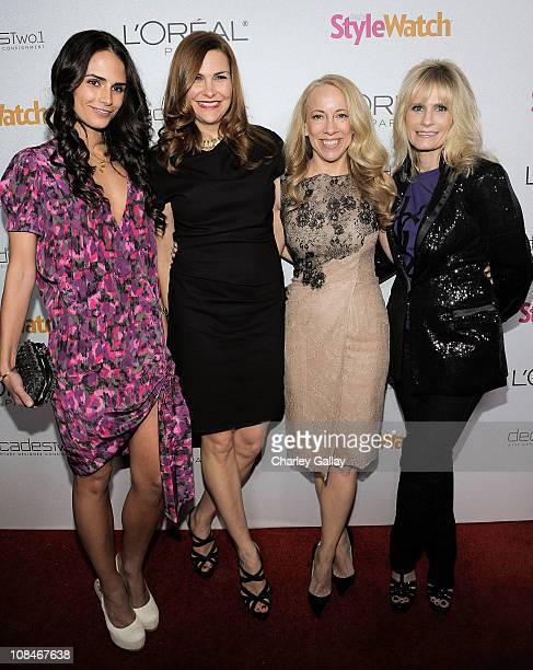 Actress Jordana Brewster, People StyleWatch Publisher Karin Tracy, People StyleWatch Editor Susan Kaufman, and L'Oreal Paris' Lisa Caparelli arrive...