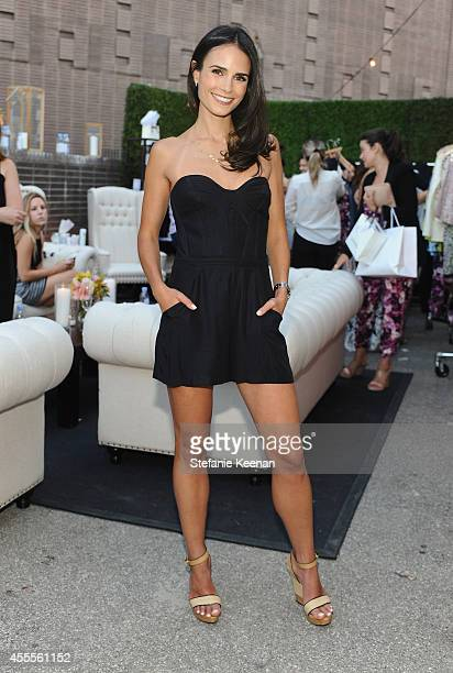 Actress Jordana Brewster wearing Parker clothing and Stella and Bow jewelry attends The Launch of Parker on Spring at The A List on September 16 2014...