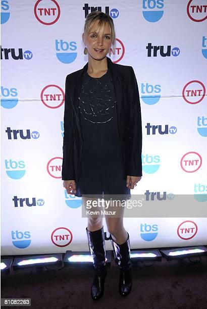 Actress Jordana Spiro attends the 2008 Turner Upfront at Manhattan Center Studios in Hammerstein Ballroom on May 14 2008 in New York City...