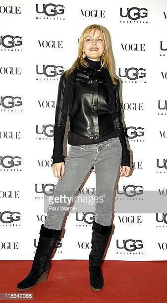 Actress Jordana Spiro attends the Vogue and UGG Australia Store Opening on October 11 2007 in Chicago
