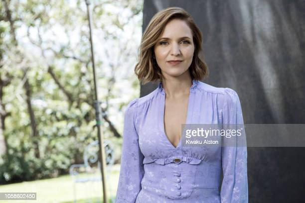 Actress Jordana Spiro is photographed for The Hollywood Reporter on April 17 2018 in Los Angeles California