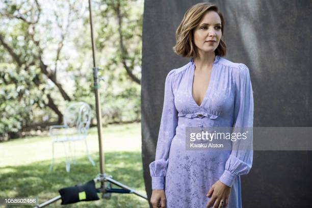 Actress Jordana Spiro is photographed for The Hollywood Reporter on April 17 2018 in Los Angeles California PUBLISHED IMAGE