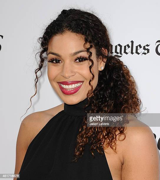 Actress Jordin Sparks attends the 2014 Los Angeles Film Festival closing night film premiere of 'Jersey Boys' at Premiere House on June 19 2014 in...